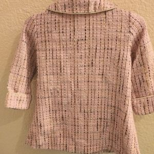 Youngland Jackets & Coats - Pink Sparkly Tweed Pea Coat